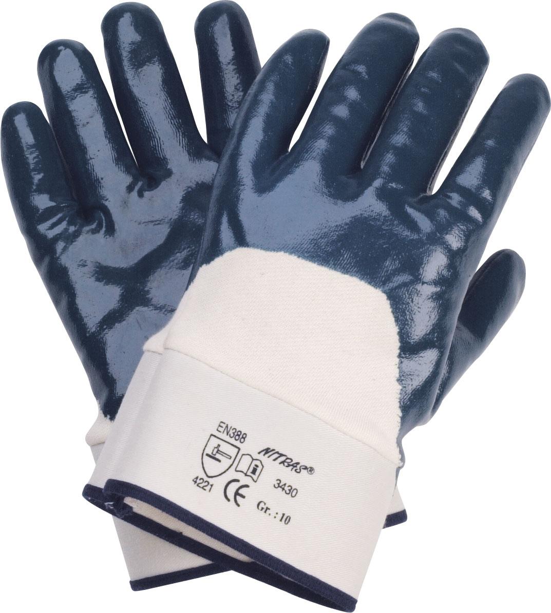nitril handschuhe blau sicherheitsstulpe. Black Bedroom Furniture Sets. Home Design Ideas